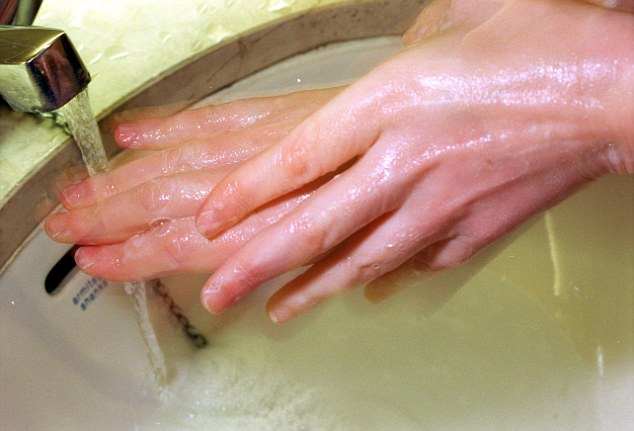 Obsessive washing of hands is a common symptom of OCD (Obsessive Compulsive Disorder) - a chronic and recurring  neurotic condition