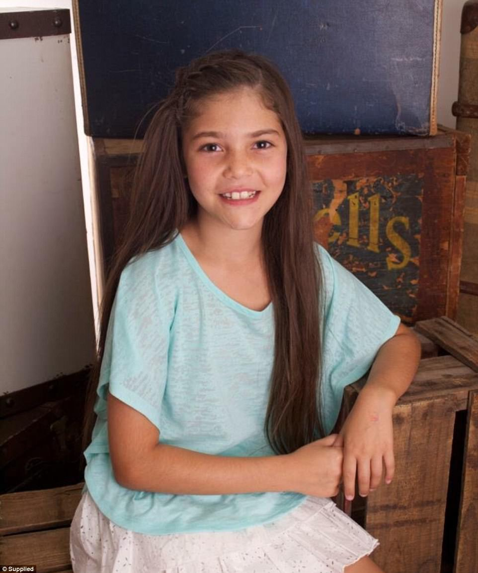 Maiya, 13, has been on Zoloft since she was six, after she had some tantrums at school