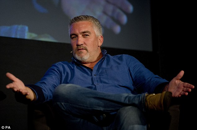 The latest star to climb aboard the bandwagon is Paul Hollywood, from The Great British Bake Off