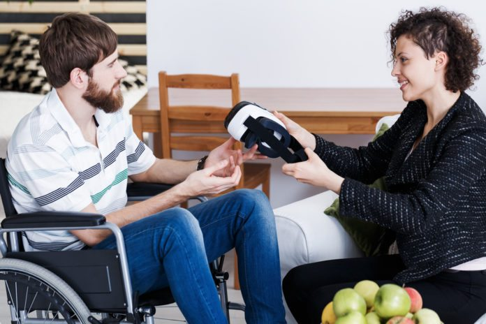 virtual reality aids psychological treatment