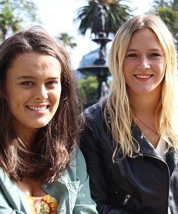 Genevieve Mora and Jazz Thornton