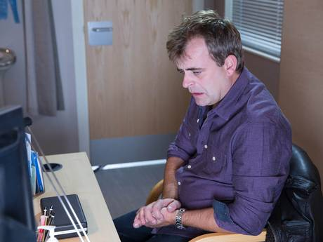 Steve McDonald in Coronation street (Press image fromDavid Crook)
