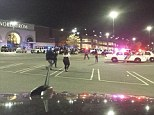 Shots were fired tonight inside the Garden State Plaza Mall in New Jersey