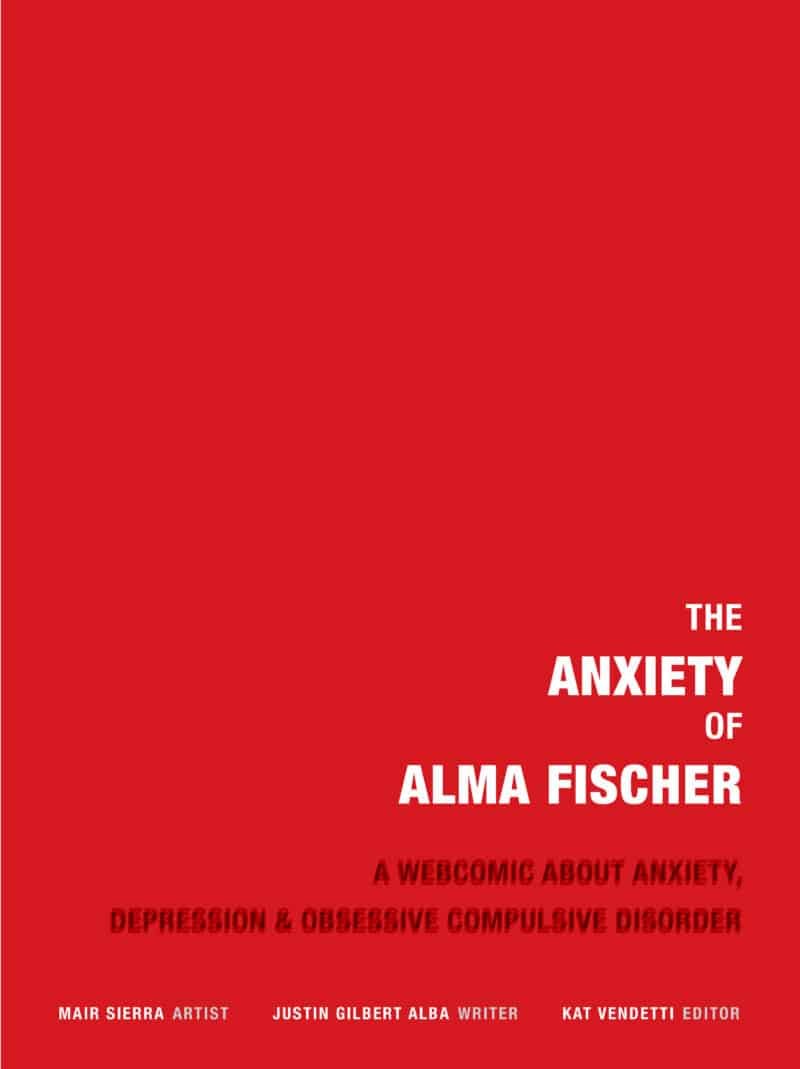 The Anxiety of Alma Fischer by Justin Alba cover