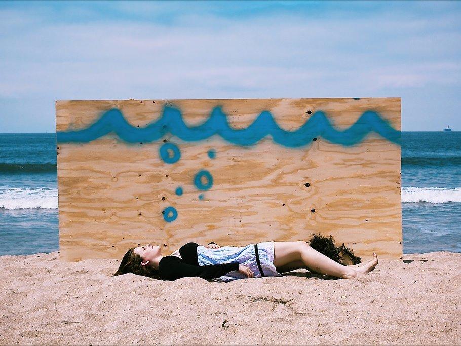 alone sad depressed sea