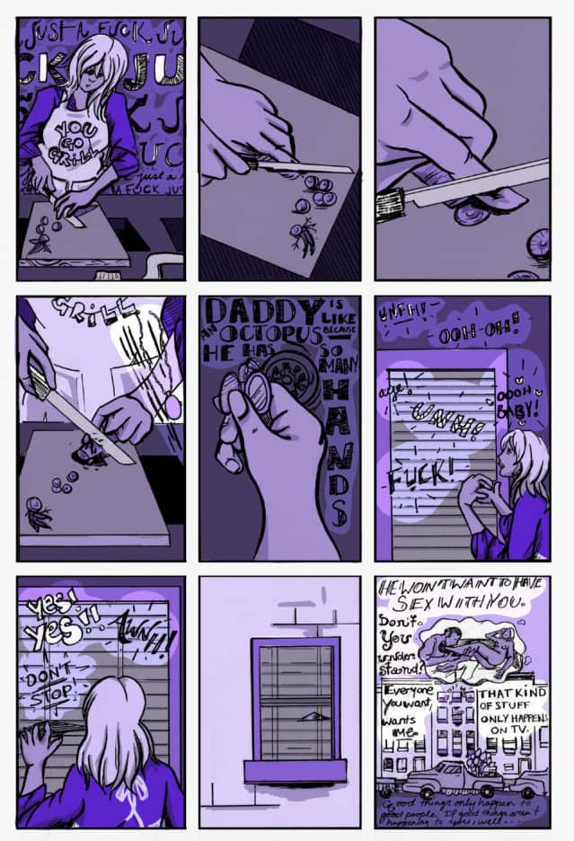 The Anxiety of Alma Fischer by Justin Alba page 3