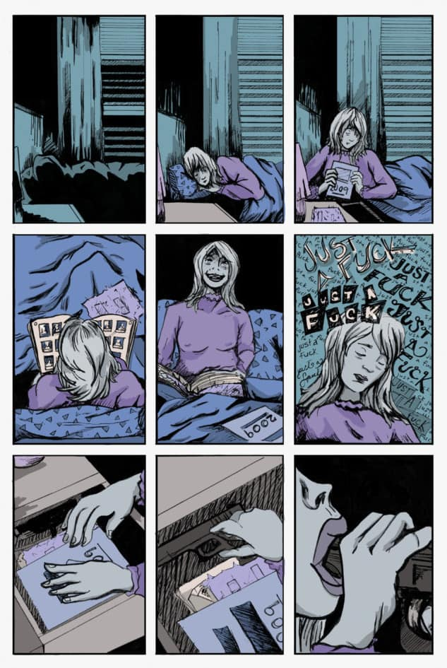 The Anxiety of Alma Fischer by Justin Alba page 5