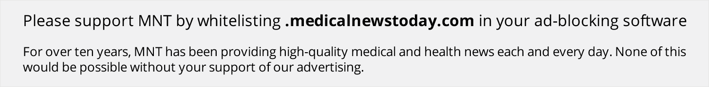 Thank you for supporting Medical News Today