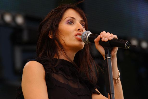 Natalie performing at Party in the Park, 2002
