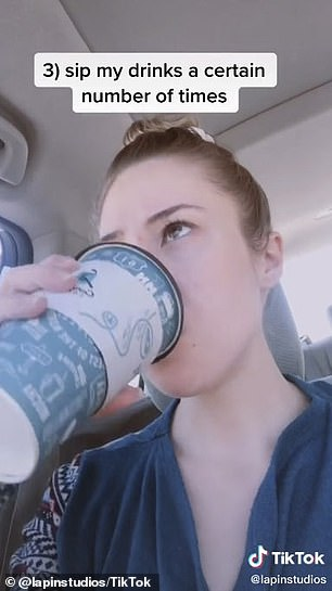 Compulsions: Ashley explained that she has to sip her drink a certain number of times and high-five people in multiples of three